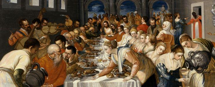 Le nozze di Cana (detail)  (1561 - 1570). Michele Damaskinos. Museo Correr, Venice.