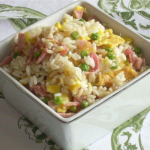 Un classico della #cucina #cinese : il riso alla cantonese - #ricette