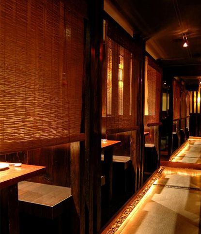 Private Seating At Zenkichi A Modern Japanese Brasserie