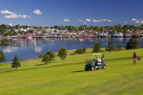 View from Lunenburg Golf Course