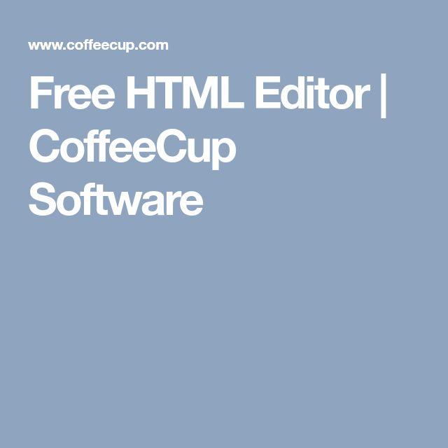 Free HTML Editor | CoffeeCup Software
