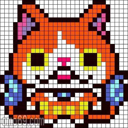 Pixel Art Yo Kai Watch 3