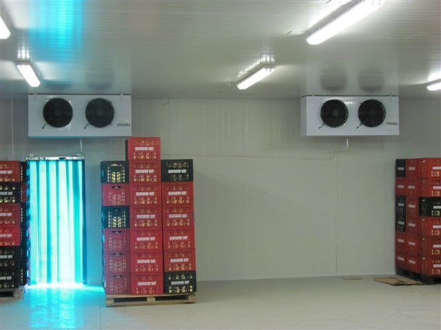 Africhill supply cold rooms, cold storage & high efficiency refrigeration systems.