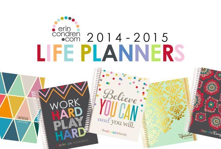 2014-2015 Life Planners - erincondren.com