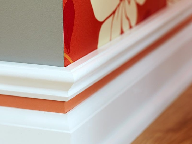 Painted Baseboards Under 50 For The Home Pinterest