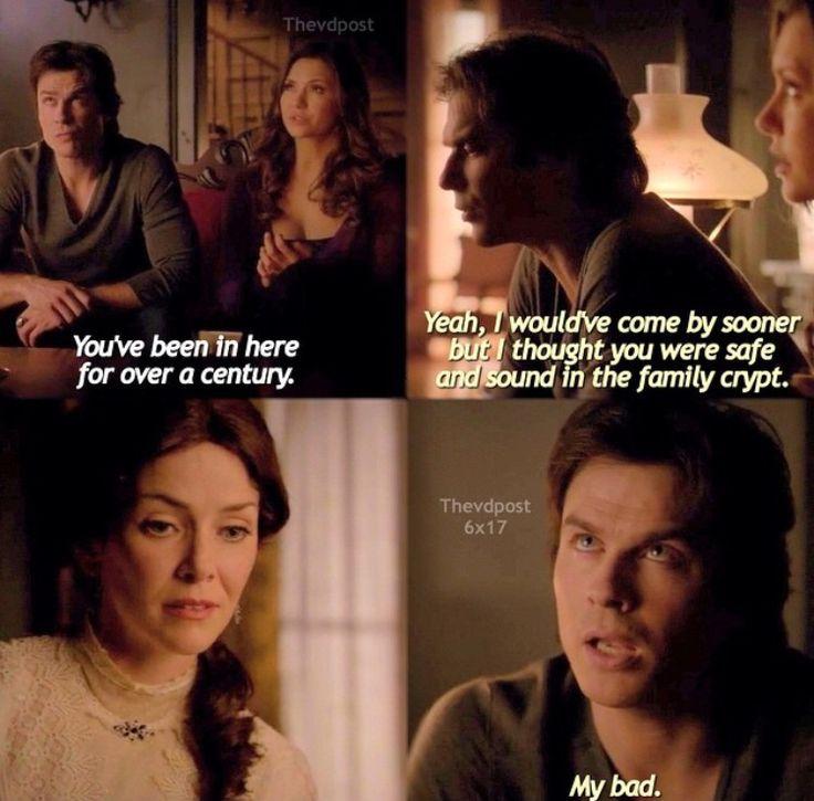 """Welcome to """"The Vampire Diaries"""", Damon! """"The Vampire Diaries"""": 6x17"""
