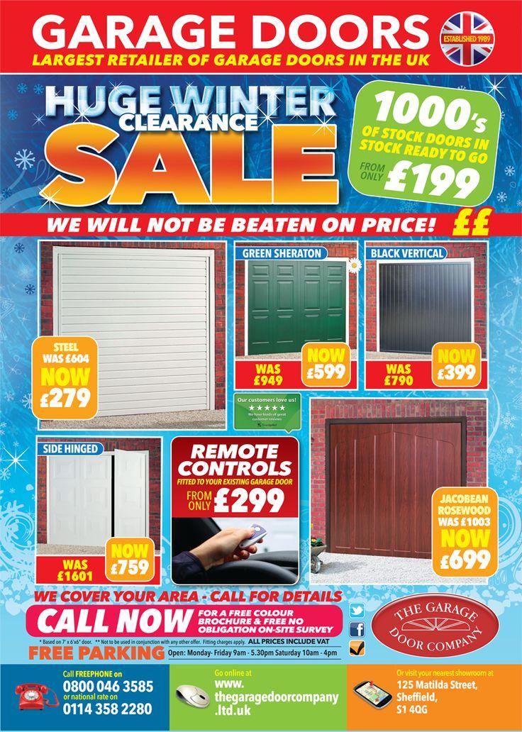 Special Offers - The Garage Door Company, winter 2015