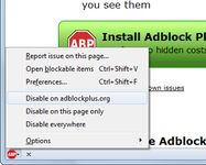 Annoyed by adverts? Troubled by tracking? Bothered by banners? Install Adblock Plus now to regain control of the internet and change the way that you view the web. https://addons.mozilla.org/en-US/firefox/addon/adblock-plus/