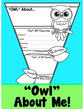 All About ME Owl Theme Pennant                                                                                                                                                                                 More