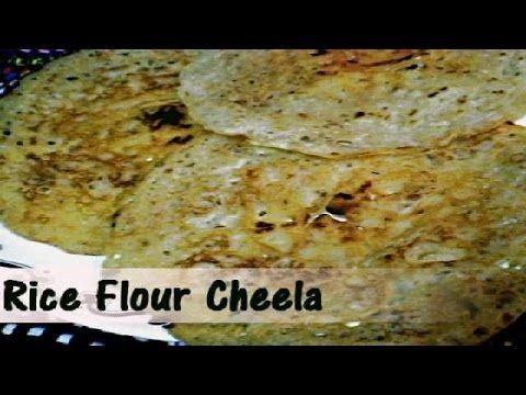 Rice Flour Cheela