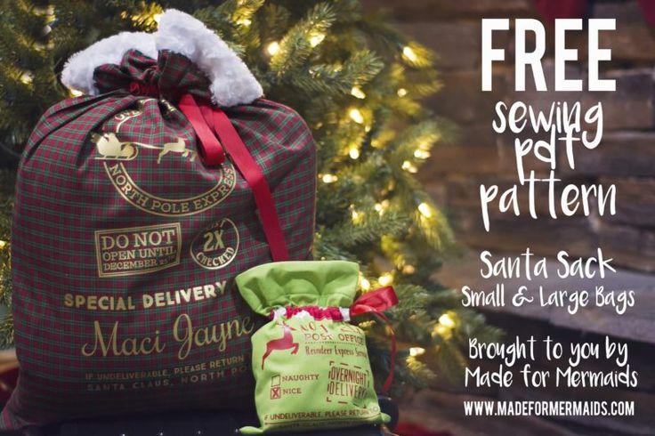 Santa Sack ⋆ Made for Mermaids