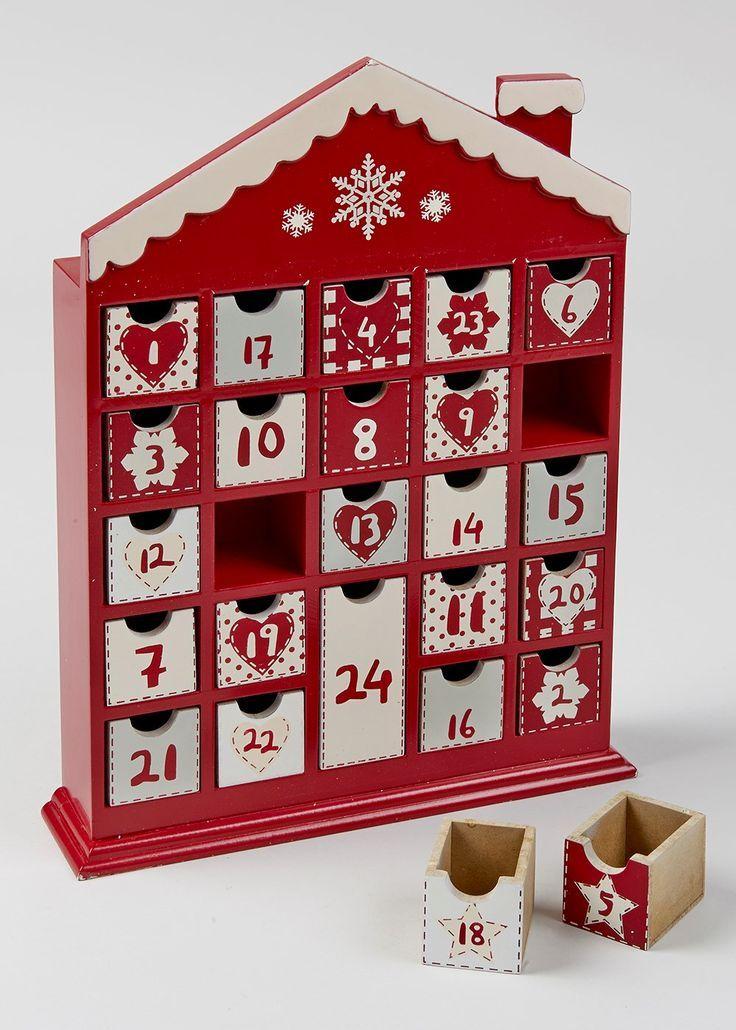 Best wooden advent calendars images on pinterest
