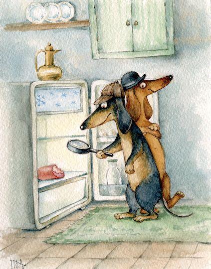 Hilarious! #dachshunds