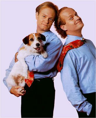 David Hyde Pierce & Kelsey Grammer (The loves of my life, I adore Fraiser! Nothing better has come even close to the talent and wit that went into this show!)