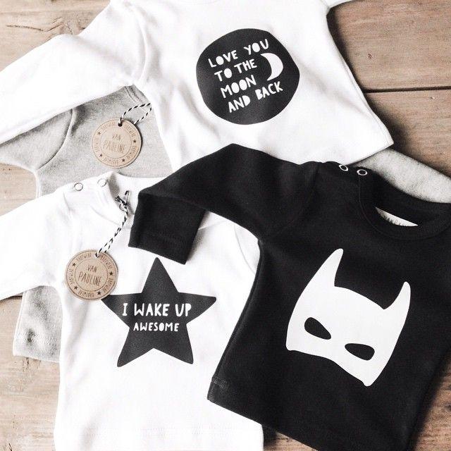 Packing Orders, cute baby tshirts >> www.vanpauline.nl