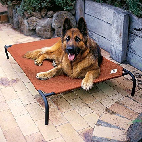 Keep your pet healthy, safe, comfortable and cool with this Pet Bed. Perfect for dogs and cats of all sizes, breeds and weights. This not only helps create a healthier environment for your four-legged friend, but is flea, mite, mold and mildew resistant for optimal health.  #Extra #Large #Dog #Bed #Outdoor #Pet #Rest
