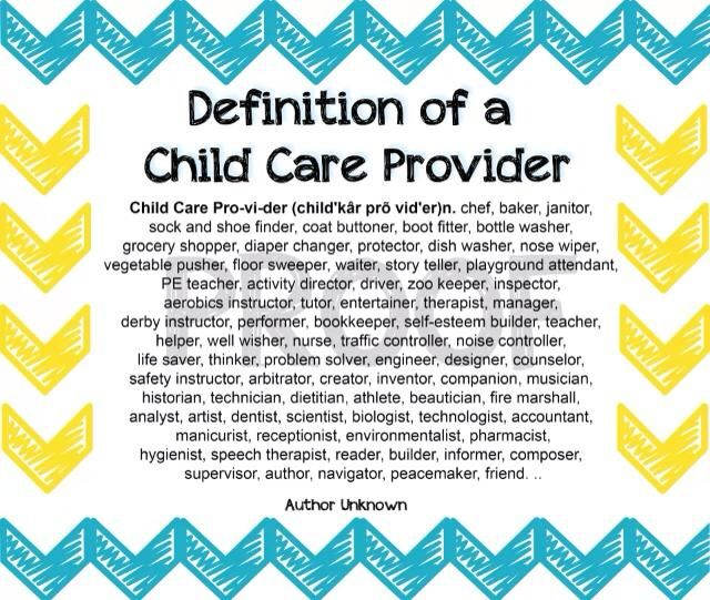 definition of preschooler definition of a child care provider quotes 667