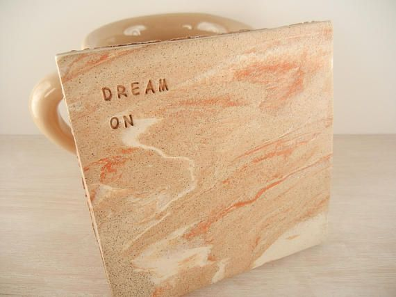 Aerosmith  Dream On  Music Tile Coaster / Lyric Wall Tile /