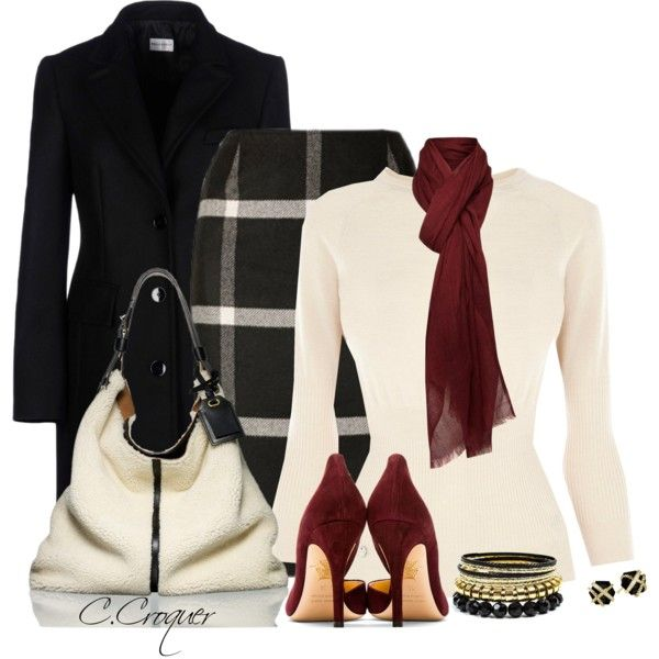 A fashion look from September 2014 featuring Alberta Ferretti coats, Charlotte Olympia pumps and Reed Krakoff shoulder bags. Browse and shop related looks.