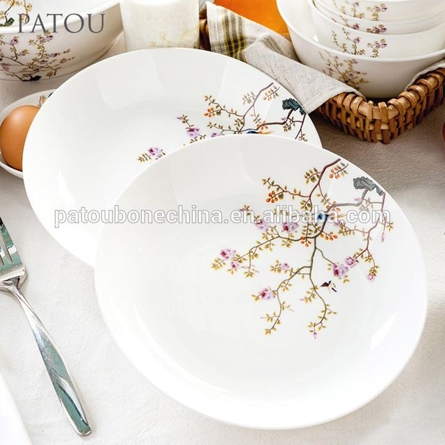Source Decal patterned bone china dinner set dinnerware sets with high quality on m.alibaba.com