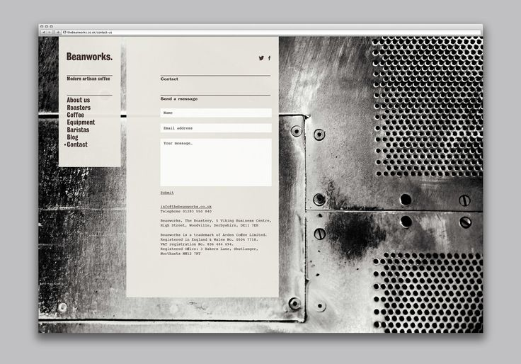 Beanworks by Paul Belford Ltd, United Kingdom. #branding #webdesign