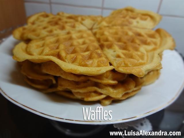 Waffles na Bimby - Receitas Bimby