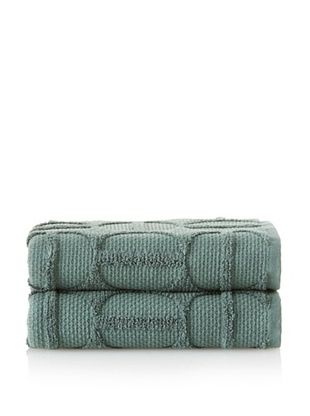 66% OFF Garnier-Thiebaut Ligne O Bouleau Set of 2 Hand Towels (Toundra)