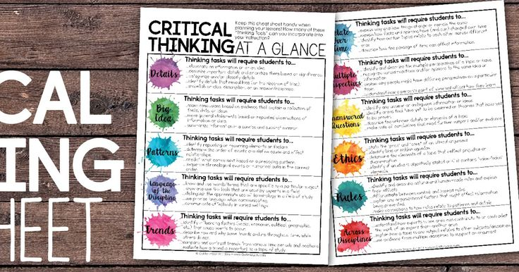 Got to Teach!: Tips for Teaching Students to Think and Respond with Depth and…