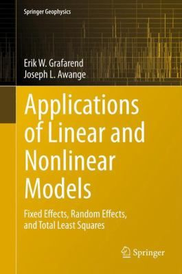 #nabibgeo Applications of linear and nonlinear models : fixed effects, random effects, and total least squares / Erik W. Grafarend, Joseph L. Awange. Heidelberg : Springer, cop. 2012 [DATA: 26/09/2013]. Here we present a nearly complete treatment of the 'Grand Universe' of linear and weakly nonlinear regression models within the first 8 chapters. The point of view is both an algebraic view as well as a stochastic one. For example, there is an equivalent lemma between a best, linear…