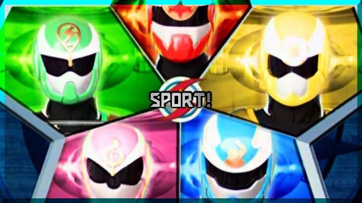 Power Rangers Sport Power - Fan-Opening (Sport Ranger - Season 1)