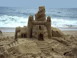 Now that's what you call a sand castle
