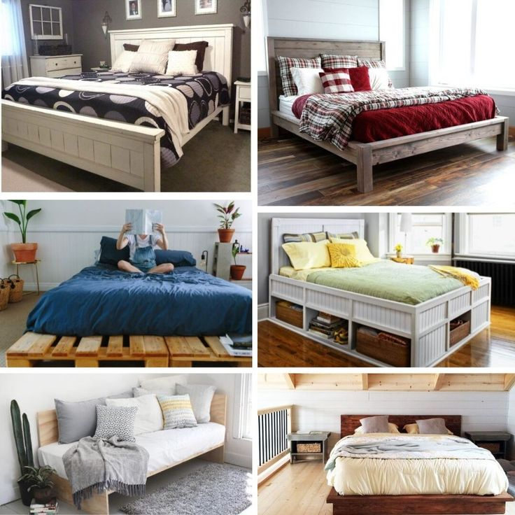 61 easy diy bed frames you can build on a budget diy bed