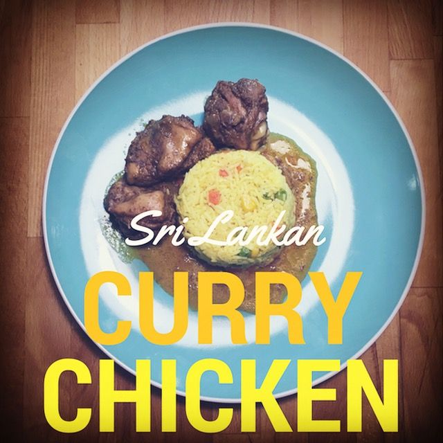 This Sri Lankan curry chicken recipe is to die for and is a favourite in our household! It's gluten free, dairy free and easy to make. When my partner first ma