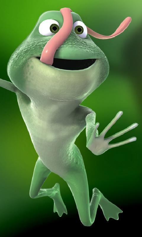 Cartoon frogs free 480x800 mobile wallpapers cartoon - Frog cartoon wallpaper ...