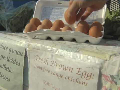 WVU Healthcare: Locavore Video Part 2 (yummy farmers markets/local foods)