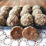 Dolcetti con cioccolato e pasta di nocciole ricetta dolci senza forno wit our Plate Kontengo #Poloplast