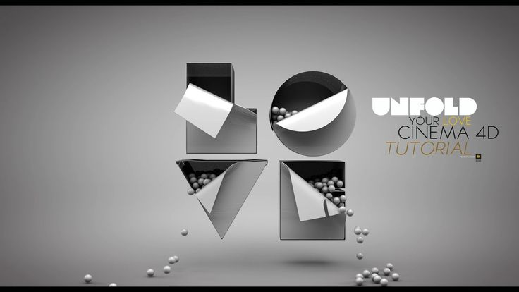 How to UNFOLD TEXT IN CINEMA 4D on Vimeo