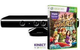 Sensor Kinect + Kinect Adventures PL + Zasilacz (X360) | W sklepie Playstacja.pl