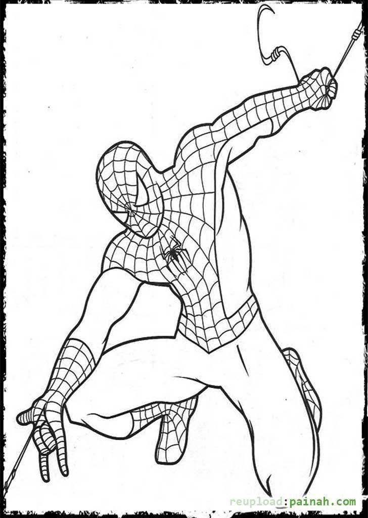 Spiderman Coloring Pages Spiderman Coloring Superhero Coloring Pages Coloring Pages For Kids