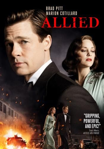 Allied for Rent, & Other New Releases on DVD at Redbox