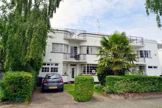 On The Market 1930s Grade Ii Listed Art Deco House In