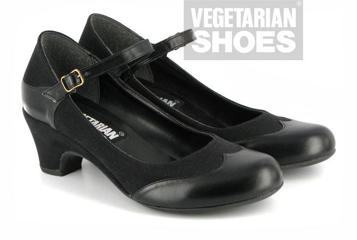 Babette Shoe (Black), VEGAN, environ 83€