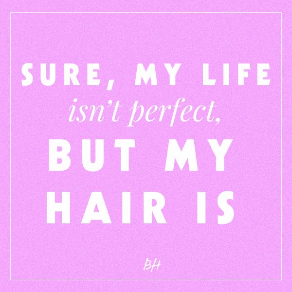 cute hair quotes and sayings