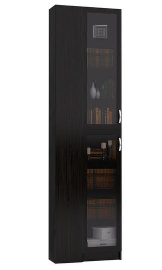 Угловой шкаф для книг Милан-38-4У