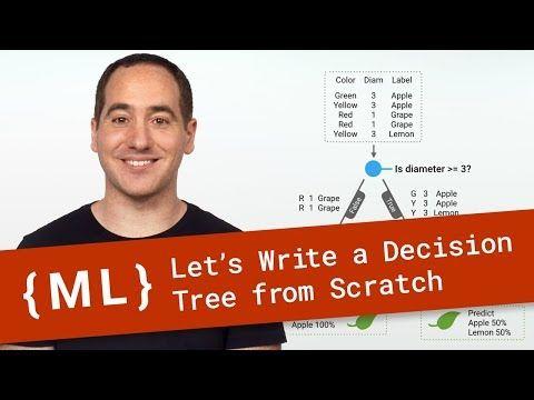 Machine Learning Recipes with Josh Gordon - YouTube