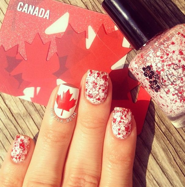 Canada Day Nails!