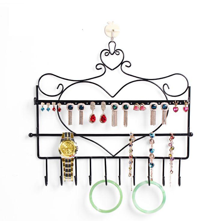 Купить товарБесплатная доставка кованого железа настенный рамка ожерелье серьги держатель бронза аксессуары для хранения ювелирных изделий плед дисплей стойки в категории Упаковка и демонстрация украшенийна AliExpress. Free shipping Wholesale  6.5x5.8x4.5cm Fashion  Jewelry earings Gift Packaging Display Box CaseUS $ 2.49/pieceFree shipp