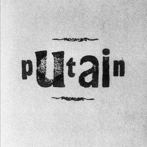 Onekon7 - letterpress handmade - Putain http://instagram.com/delaouane