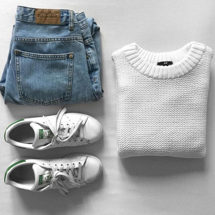 White with Jeans