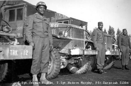 514th QM Truck Regiment - Red Ball History